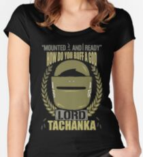 Lord Tachanka Women's Fitted Scoop T-Shirt