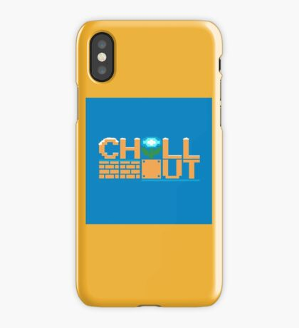 Chill Out (pillow) iPhone Case
