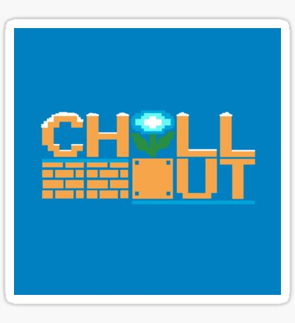 Chill Out (pillow) Sticker