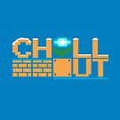 Chill Out (pillow) by Ameda