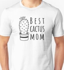 Best Cactus Mom Unisex T-Shirt