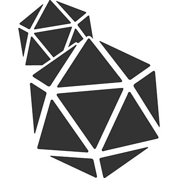 PTG Dice Logo - Grey by PeopleThatGame