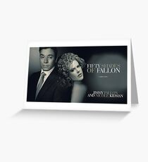 Fifty Shades of Fallon Greeting Card