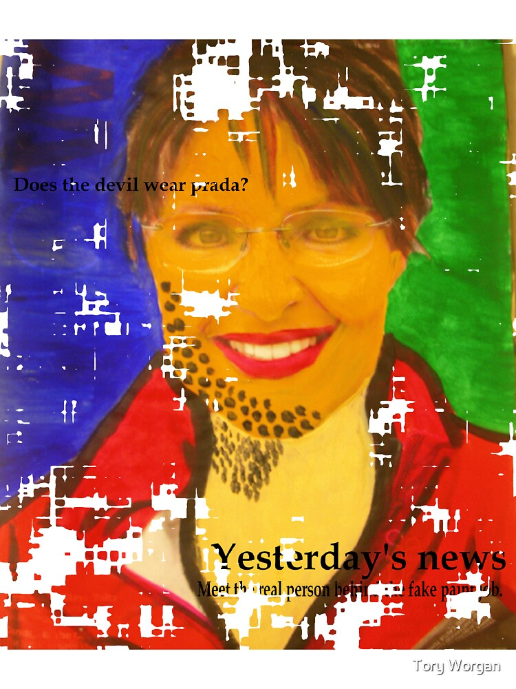 Fake Palin by toryworgan