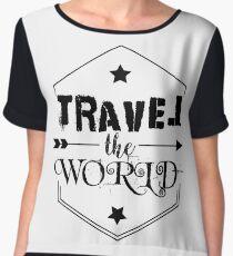 Travel the world Chiffon Top