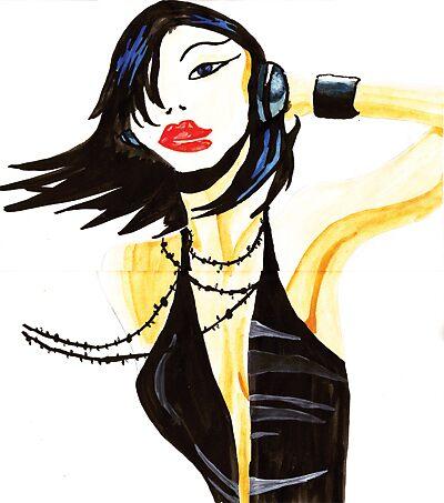 Disco Girl by Emma Perkins