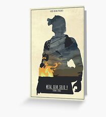 Ground Zeroes  Greeting Card