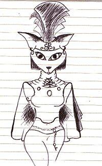 Cat Woman by Emma Perkins
