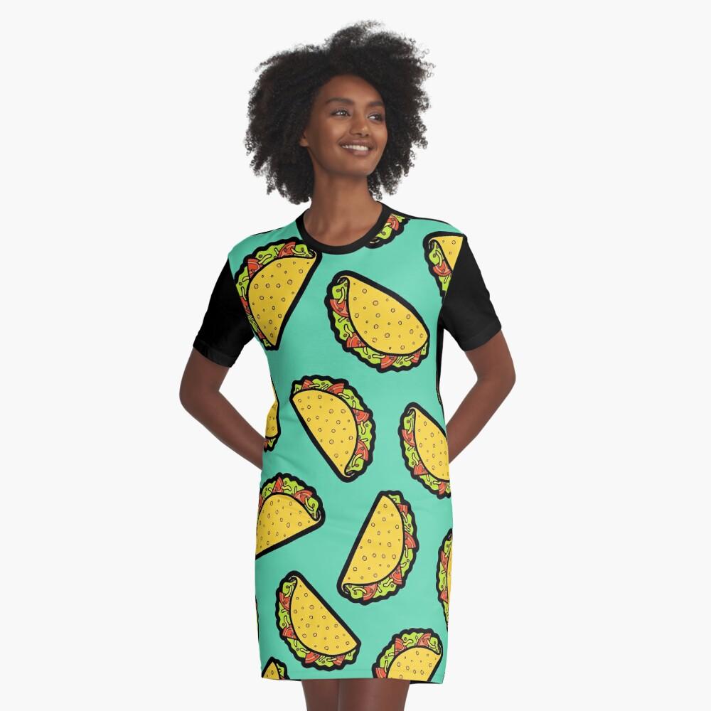 Es ist Taco Zeit! T-Shirt Kleid