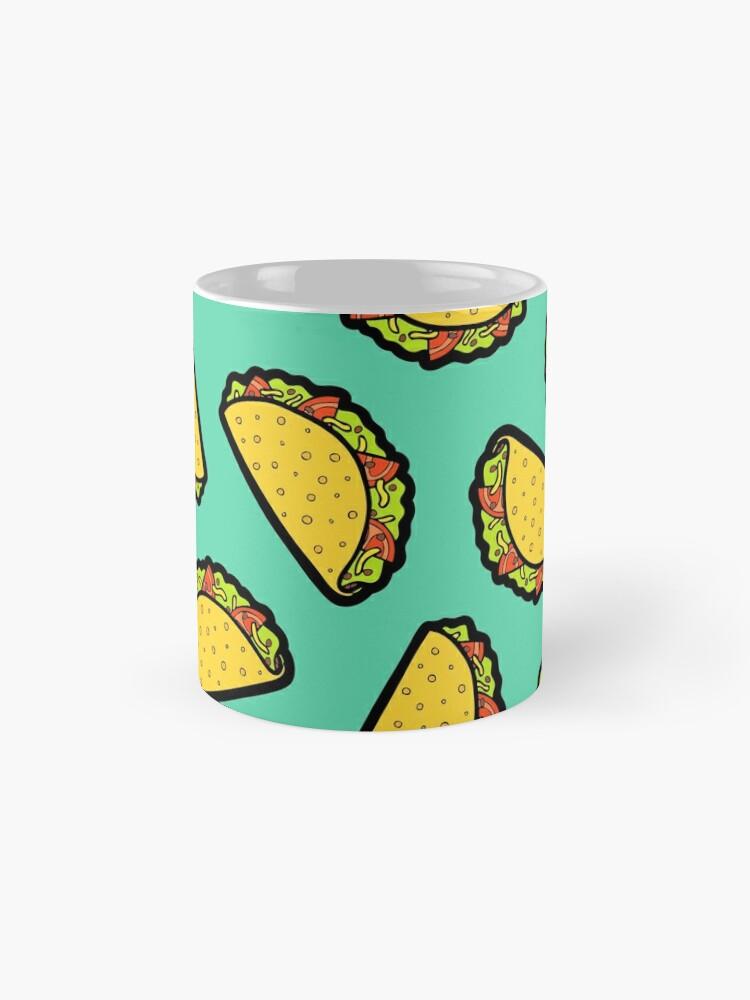 Alternative Ansicht von Es ist Taco Zeit! Tassen