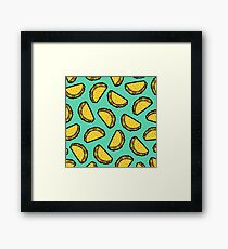 It's Taco Time! Framed Print