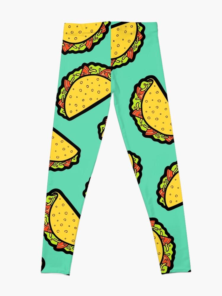 Alternative Ansicht von Es ist Taco Zeit! Leggings