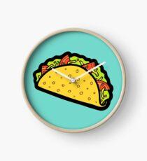 It's Taco Time! Clock