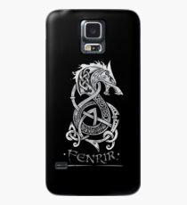 Fenrir: Der Monsterwolf der nordischen Mythologie (grau) Hülle & Skin für Samsung Galaxy