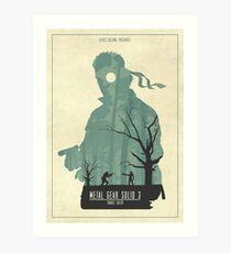 Snake Eater Art Print