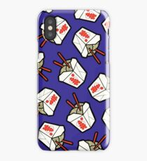 Take-Out Noodles Box Pattern iPhone Case/Skin