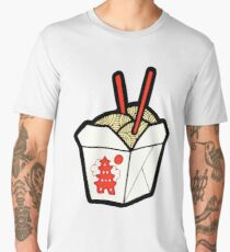Take-Out Noodles Box Pattern Men's Premium T-Shirt