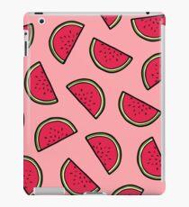 Watermelon Pattern in Pink iPad Case/Skin
