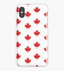 Canadian maple leaf pattern iPhone Case/Skin