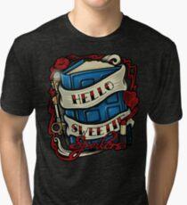 Hello Sweetie (T-shirt) Tri-blend T-Shirt