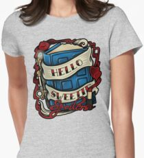 Hello Sweetie (T-shirt) Women's Fitted T-Shirt