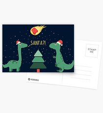 Merry Extinction Postcards