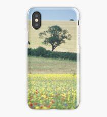 Field Of Flowers in Norfolk iPhone Case/Skin