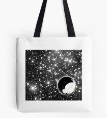 Rabbit in Space Tote Bag