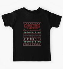 Christmas Things Ugly Sweater Kids Tee