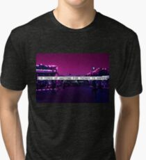 Fête foraine vaporwave Tri-blend T-Shirt