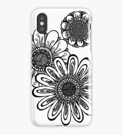 Gerber Daisy Trio iPhone Case