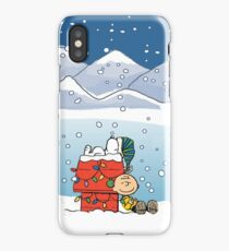 baby snoopy christmas iPhone Case/Skin