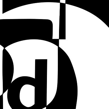 B/W Letterforms by jondenby