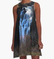Silvery Falls A-Line Dress