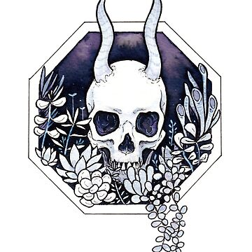 Succulent Skull by n1mh