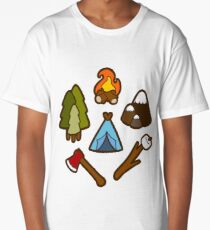 Camping is cool Long T-Shirt