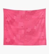 Honeysuckle Square Pixel Color Accent Wall Tapestry