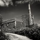 Cornish Tin Mine. by Dave Hare