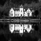 Lochside dwelling by Dave Hare