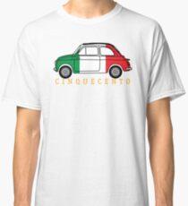 Cinquecento (italia flag) Classic T-Shirt