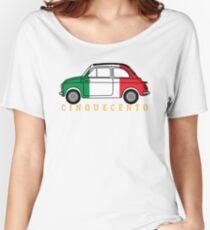 Cinquecento (italia flag) Women's Relaxed Fit T-Shirt