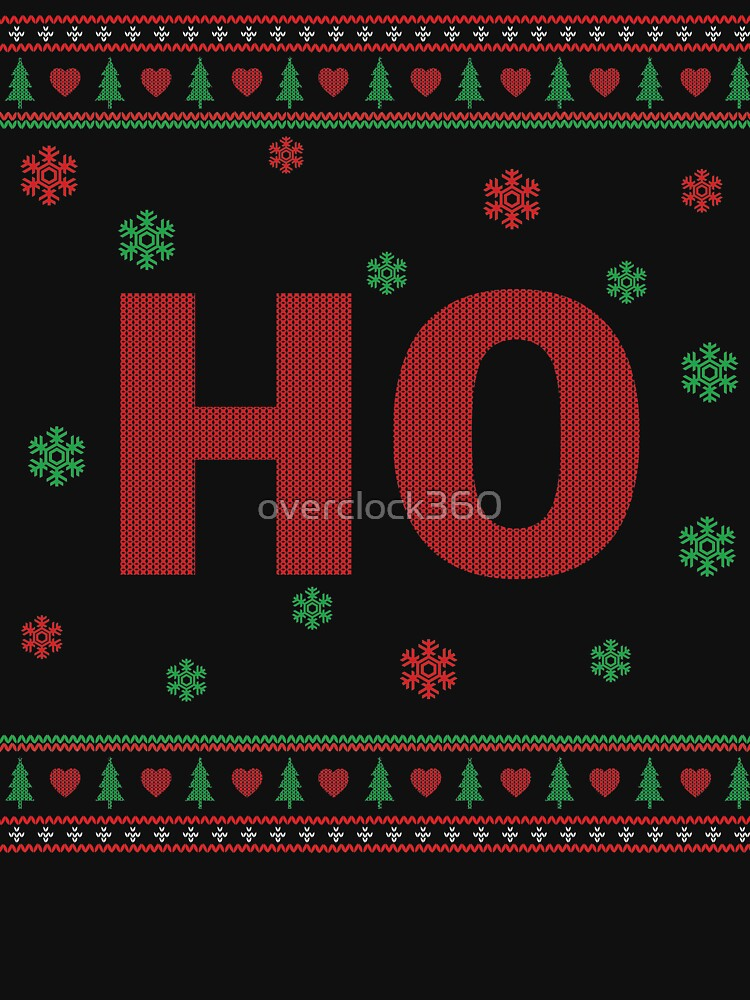 Couples Ho ugly sweater by overclock360
