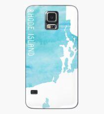 Rhode Island Blue Watercolor Case/Skin for Samsung Galaxy