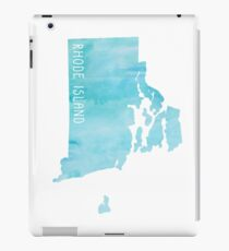 Rhode Island Blue Watercolor iPad Case/Skin