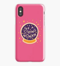 I see a strong woman iPhone Case/Skin