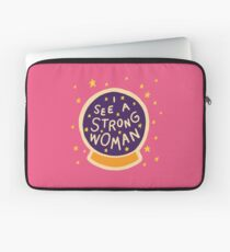 I see a strong woman Laptop Sleeve