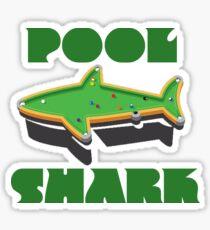 Pool Shark Billiards player  Sticker