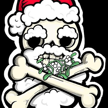 Great Big Santa Skull by lauriepink