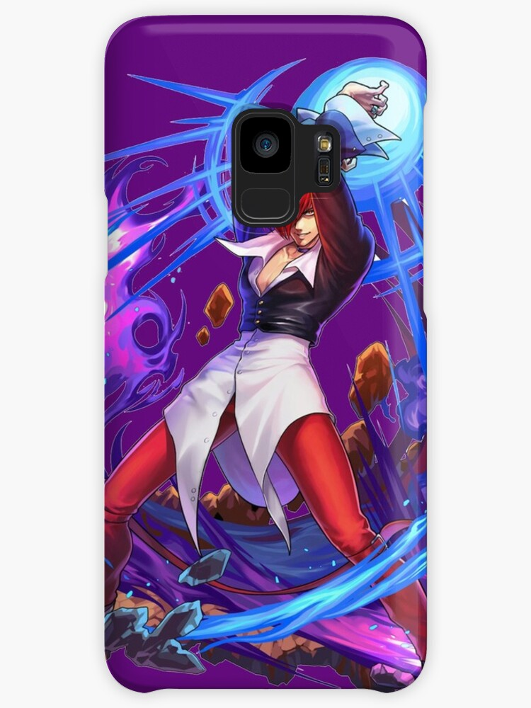 iori yagami cases skins for samsung galaxy by carval redbubble