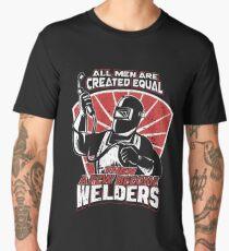 Few Become Welder Shirts and Tops Design Men's Premium T-Shirt